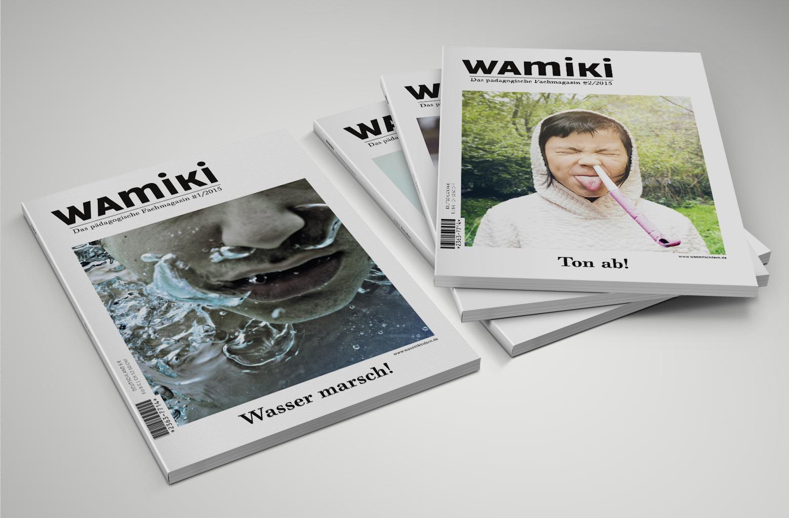 u00bbwamiki magazin u00ab editorial design  u2013 anschlaege de