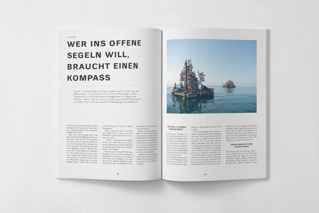 Wamiki Magazin Editorial Design Anschlaege De